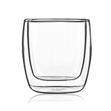 Taza 24 cl Double Glass