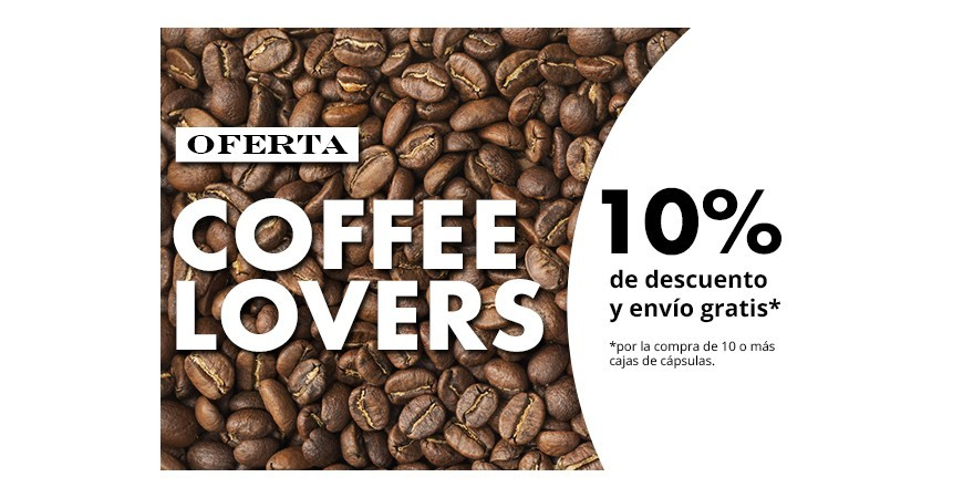 Promoción coffee lovers
