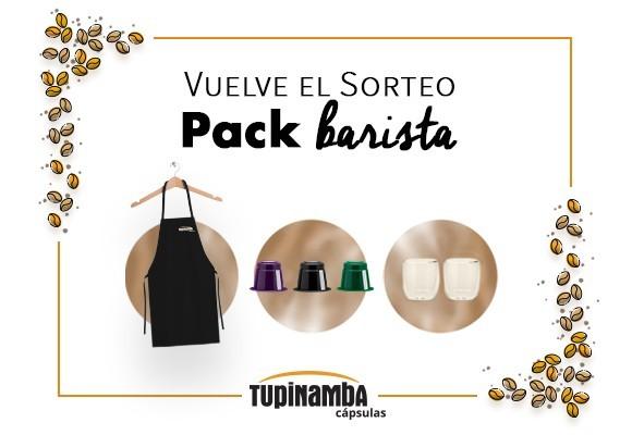 ¡Consigue pack barista Tupinamba!