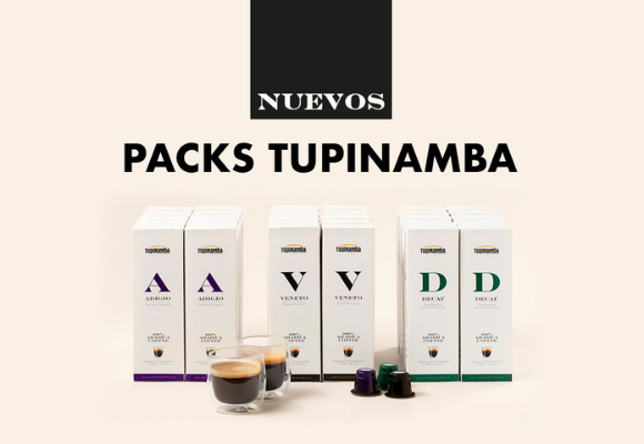 ¡Nuevos packs Tupinamba!