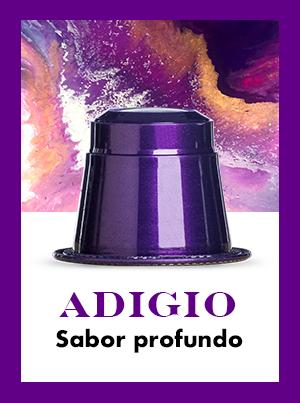 Banner Adagio: Cápsulas de café Arábica